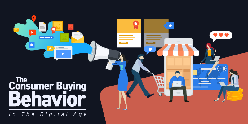 The Consumer Buying Behavior in the Digital Age Blog Banner